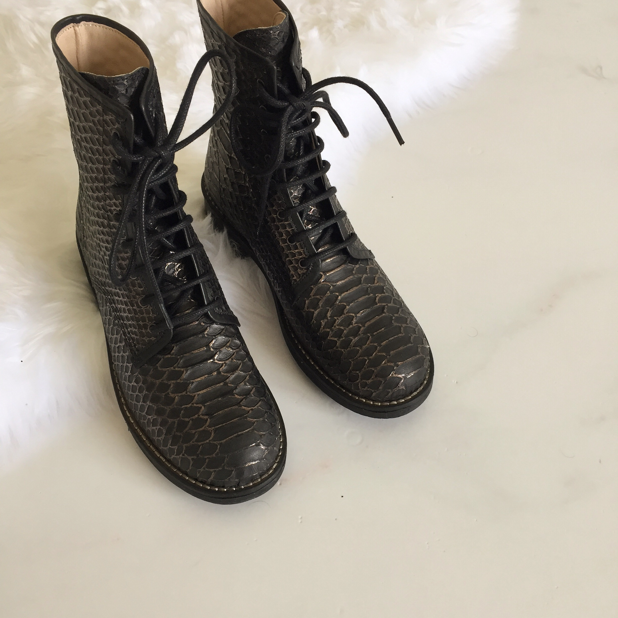 ´Army´ Black Snake Boots