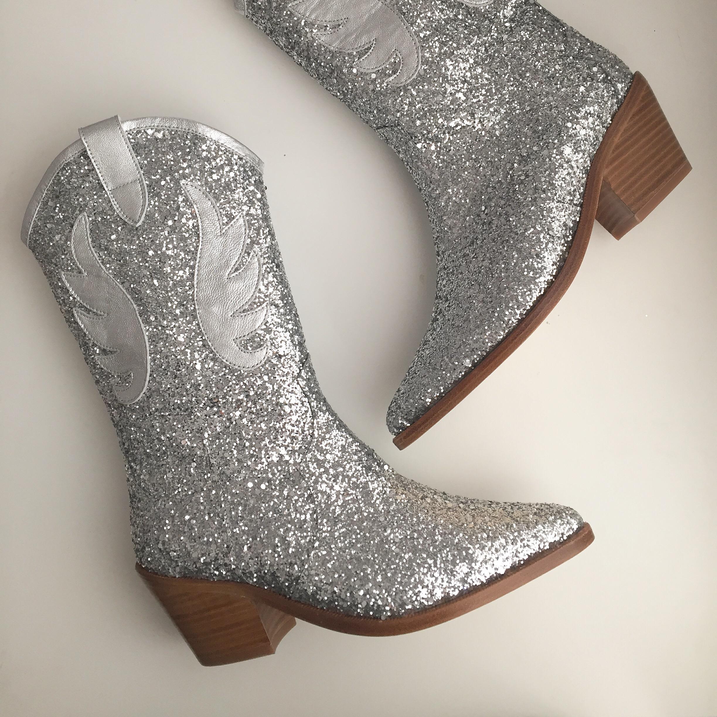 Noah Glitter Boots
