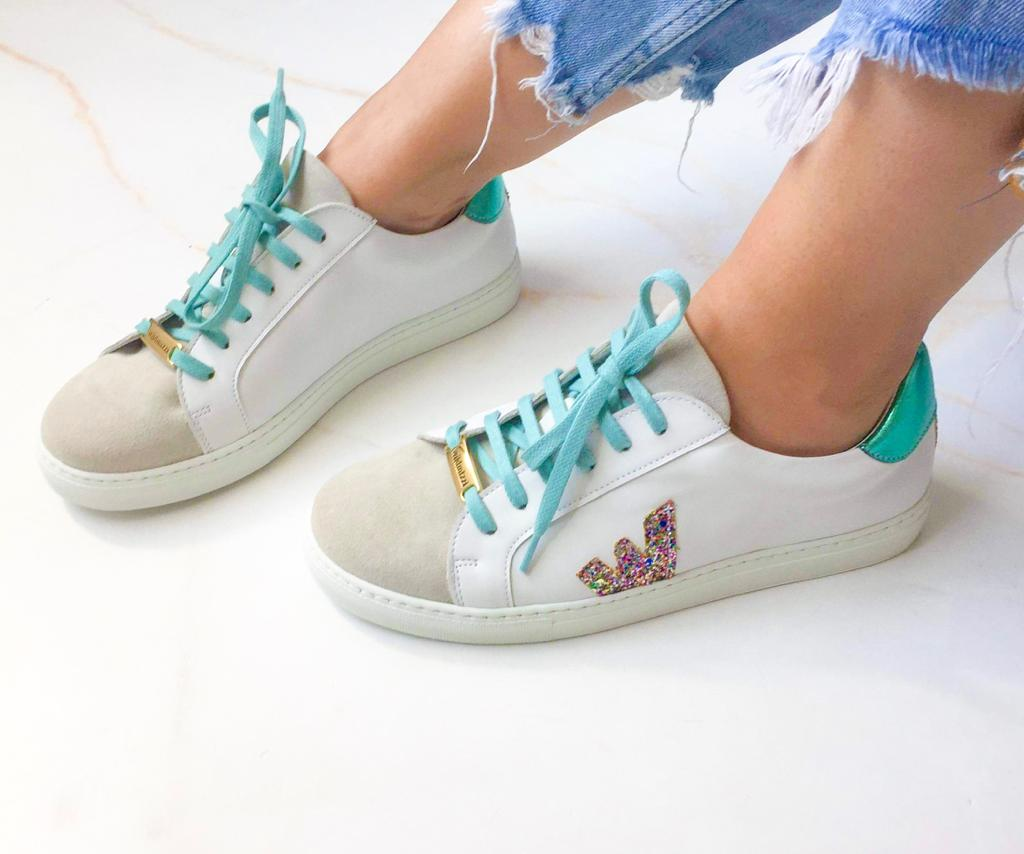 ´My oWn´ Aquamarine Sneakers